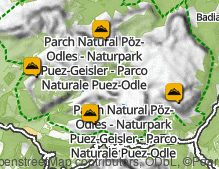 Map: Puez Group