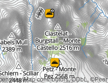 Map: Sciliar Massif