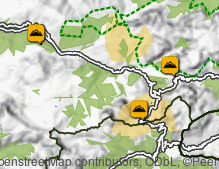 Map: Mountain passes
