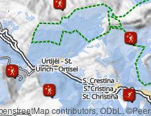 Map: Winter sports