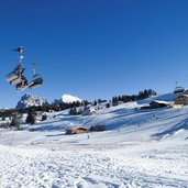 seiser alm panorama lift winter