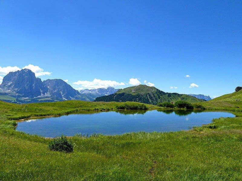 Per il col raiser in cima al seceda escursione sull alpe for Semplici paesaggi