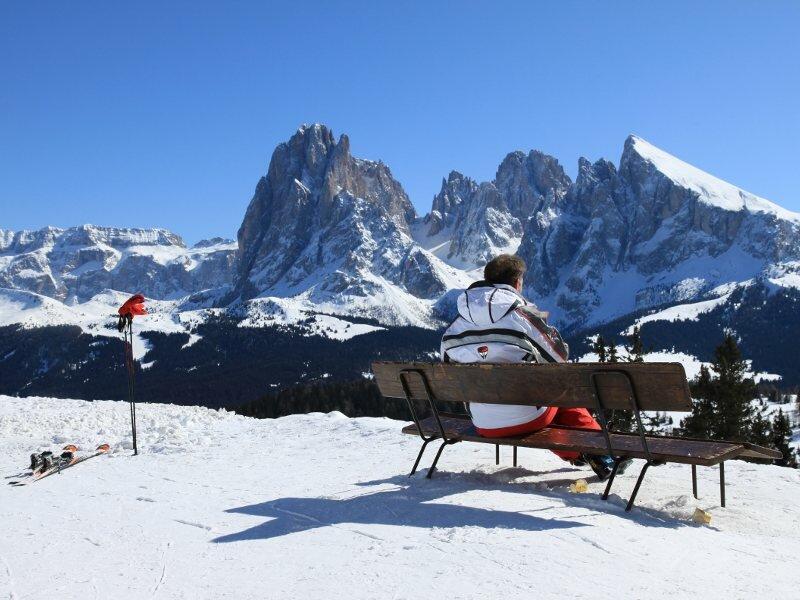 Alpe di Siusi Map Alpe di Siusi Skiing Area