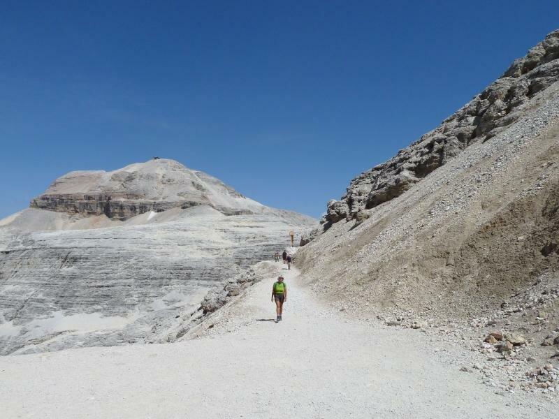 Klettersteig Piz Boe : Boespitze gröden dolomiten südtirol