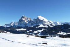 Dolomiten -> Langkofelgruppe Winter 2011