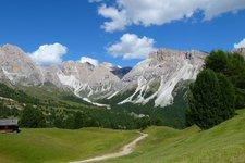 Wanderung Col Raiser Seceda 2011