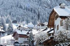 St. Ulrich Runggaditsch Winter Ortisei Roncadizza inverno