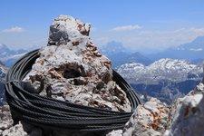 Ferrata Sass Rigais Klettersteig