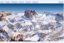 Wintersport -> Skimap, Interaktive Karte Dolomiti Superski 2011