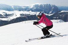 Wintersport Skigebiet Gröden
