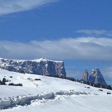 Winterwanderung Monte Pana - Saltria