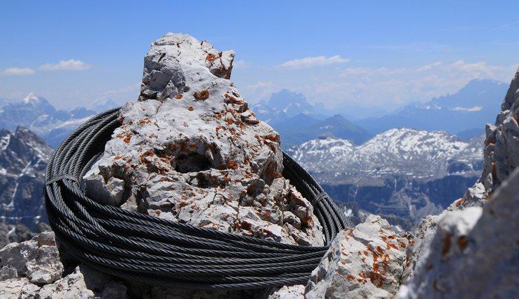 Klettersteig Sass Rigais, Foto: EMS, © Peer