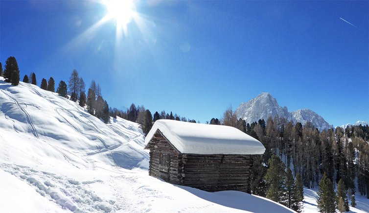 Winter walk to the Rifugio Firenze in Cisles, Foto: AT, © Peer