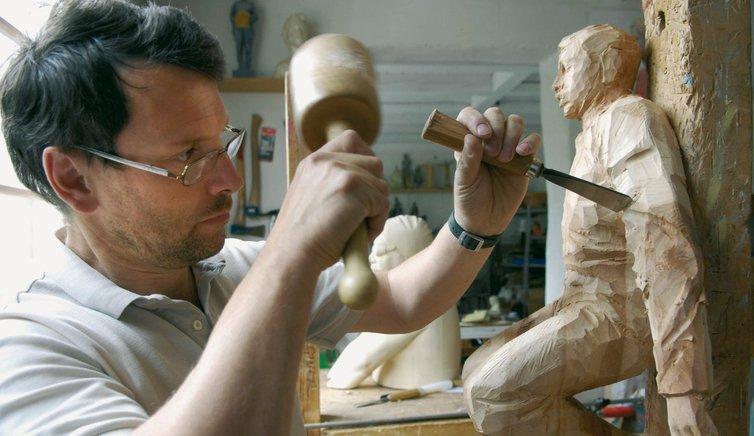 Grödner Holzschnitzerei, Foto: Helmuth Rier, © Südtirol Marketing Gesellschaft SMG
