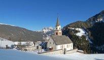 St. Ulrich Pufels Winter Ortisei Bulla inverno