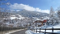 St. Ulrich Überwasser Winter Ortisei Oltretorrente inverno