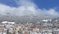 St. Ulrich Dorf Winter Ortisei paese inverno