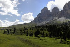 dolomiten sellajoch panorama new