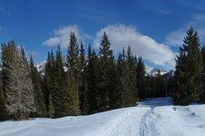 Seiser Alm im Schnee